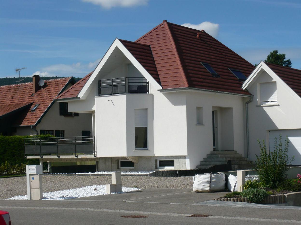 Construction de maisons individuelles archidesign for Construction de maisons individuelles